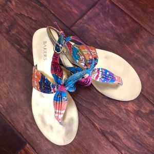 Baker's Colorful Sandals